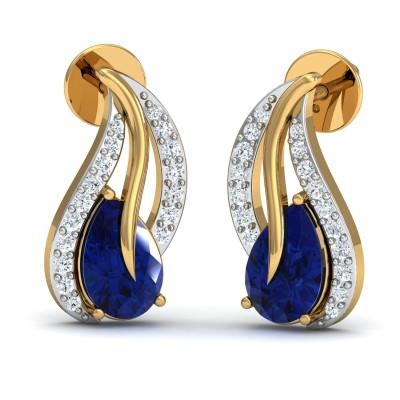 Emily Diamond Earring