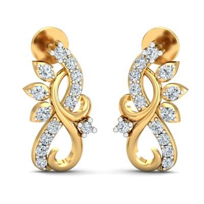 Chimalli Diamond Earring