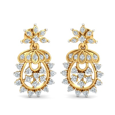Cicero Diamond Earring