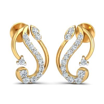 Dawud Diamond Earring