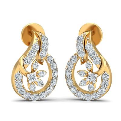 Angela Diamond Earring