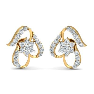 Crescentius Diamond Earring