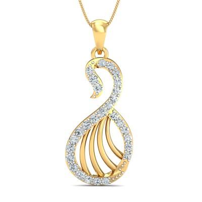 Halina Diamond Pendant