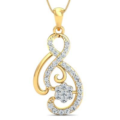 Iggie Diamond Pendant
