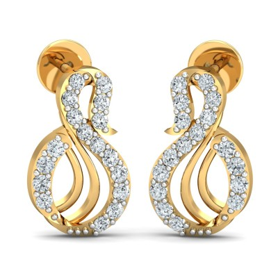 Halina Diamond Earring
