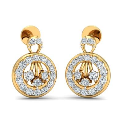 Halston Diamond Earring