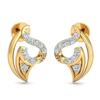 Jadeane Diamond Earring