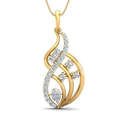 Hallia Diamond Pendant