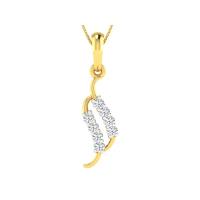 Zagora Diamond Pendant