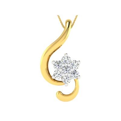 Zadah Diamond Pendant