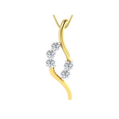Zanthe Diamond Pendant