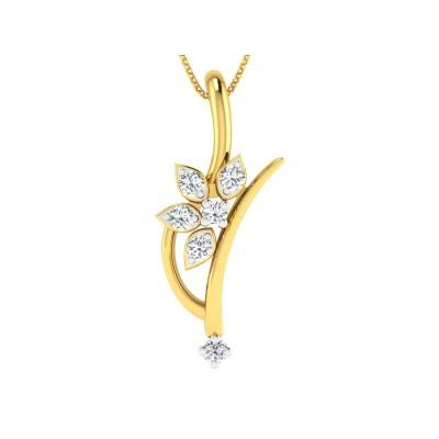 Zaveeyera Diamond Pendant