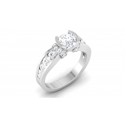 Devika Diamond Ring