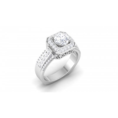 Elva Diamond Ring