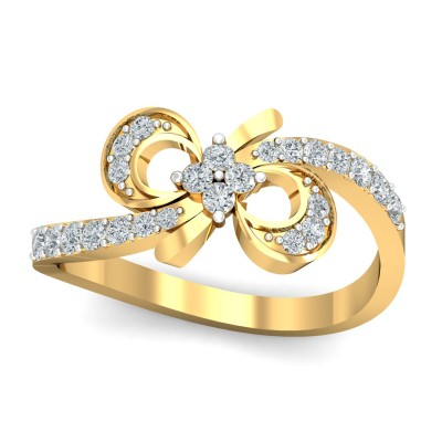 Abelia Diamond Ring