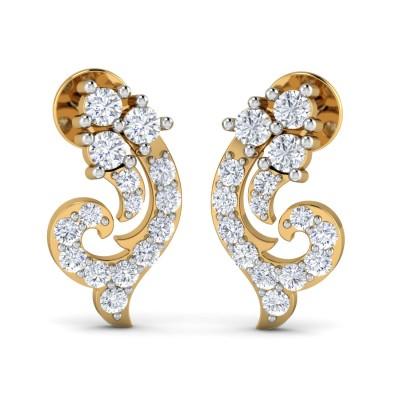 Superb Diamond Earring