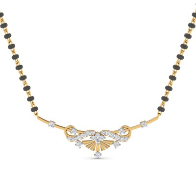 Exemplary Diamond Mangalsutra