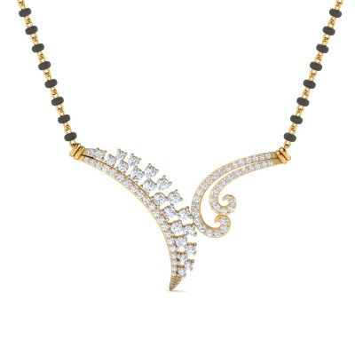 Akshita Diamond Mangalsutra