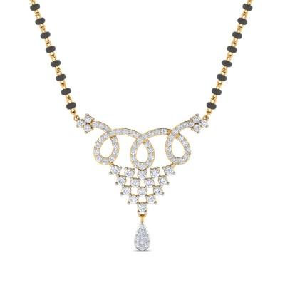 Leela Diamond Mangalsutra
