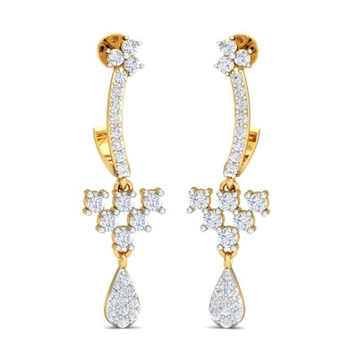 Leela Diamond Earring
