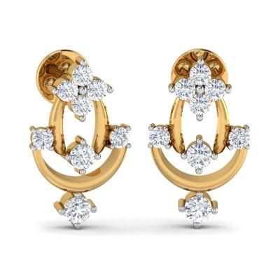 Pristine Diamond Earring