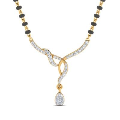 Flawless Diamond Mangalsutra