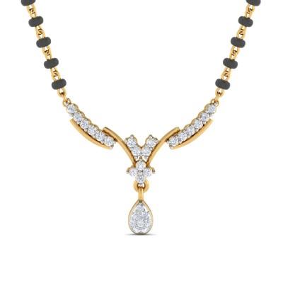 Ideal Diamond Mangalsutra