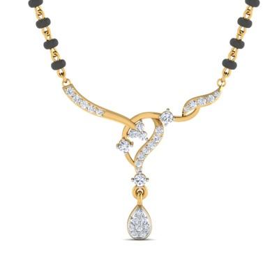 Sameeksha Diamond Mangalsutra