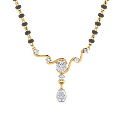 Tanuja Diamond Mangalsutra