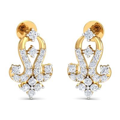 Vertika Diamond Earring