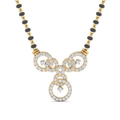 Sumedha Diamond Mangalsutra
