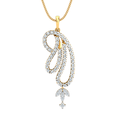 Bishti Diamond Pendant