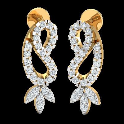Bishti Diamond Earring