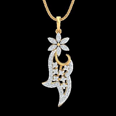 Baidehi Diamond Pendant
