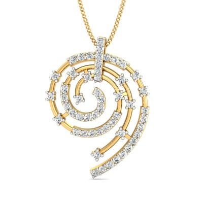 Fadora Diamond Pendant
