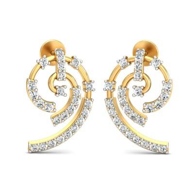 Fadora Diamond Earring