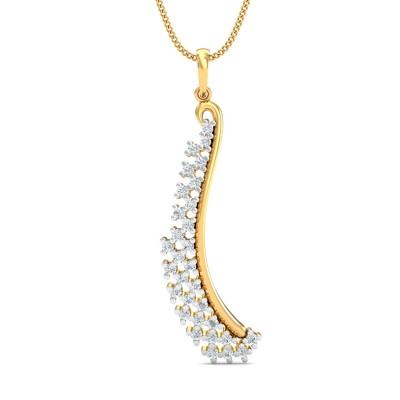 Gaurika Diamond Pendant