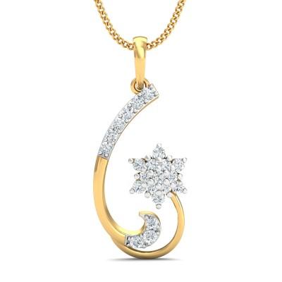 Aruna Diamond Pendant