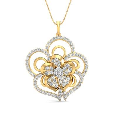 Gaetane Diamond Pendant