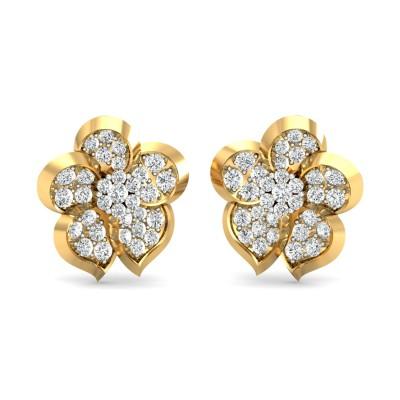 Gaetane Diamond Earring