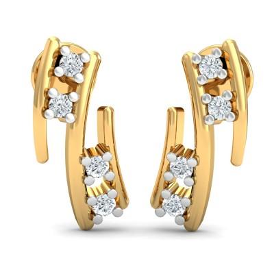 Alisha Diamond Earring