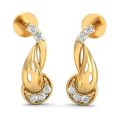 Galway Diamond Earring