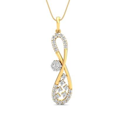 Garfield Diamond Pendant