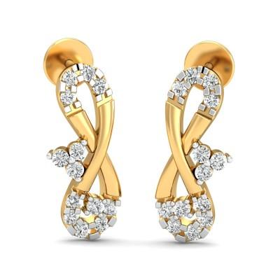 Garfield Diamond Earring