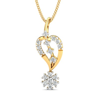 Gashka Diamond Pendant