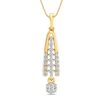 Hacinthia Diamond Pendant