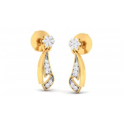 Racquel  Diamond Earring