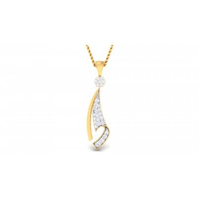 Racquel  Diamond Pendant