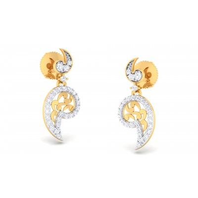 Rachelle  Diamond Earring