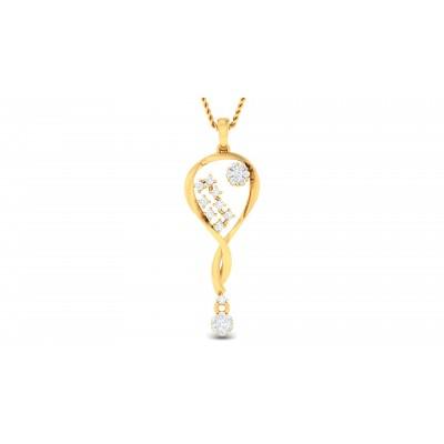 Ragnheidur Diamond Pendant